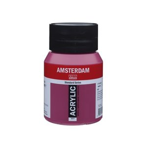 Amsterdam Amsterdam Acrylverf 500 ml Permanentroodviolet 567