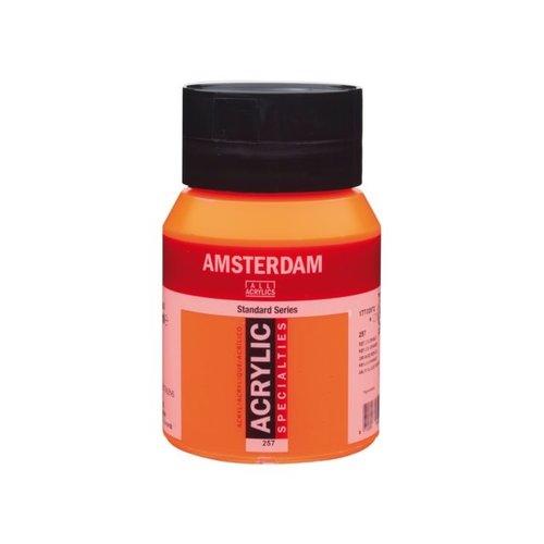 Amsterdam Amsterdam Acrylverf 500 ml Reflexoranje 257