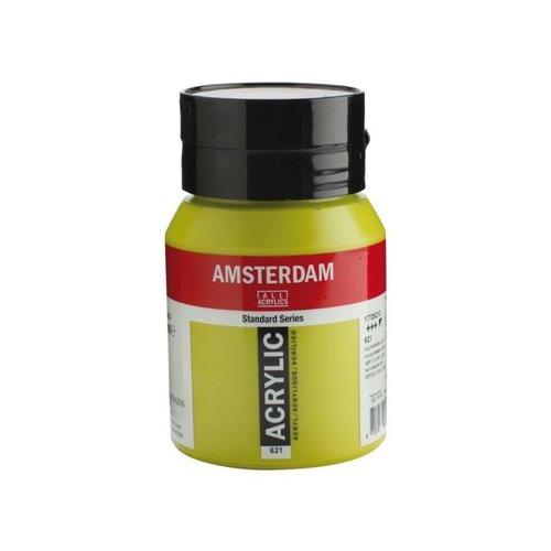Amsterdam Amsterdam Acrylverf 500 ml Olijfgroen Licht 621
