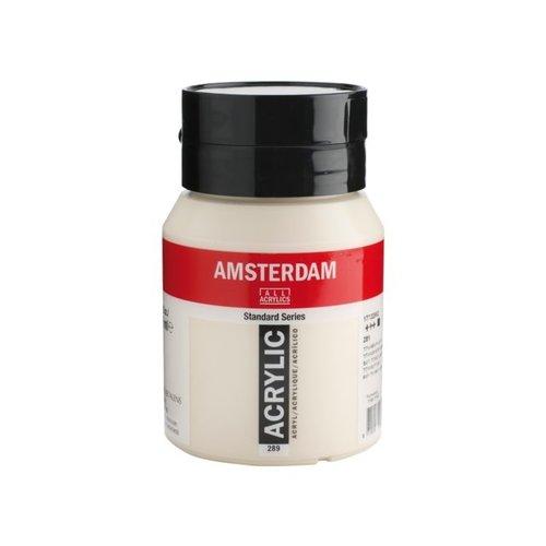 Amsterdam Amsterdam Acrylverf 500 ml Titaanbuff Licht 289