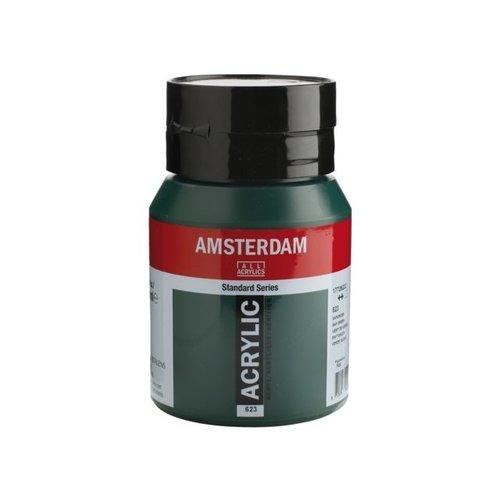 Amsterdam Amsterdam Acrylverf 500 ml Sapgroen 623