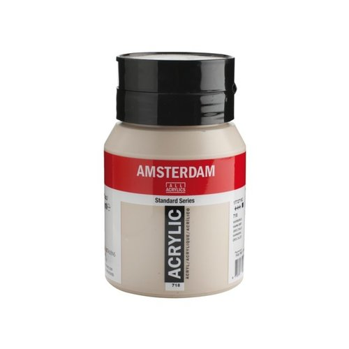 Amsterdam  Amsterdam Acrylverf 500 ml Warmgrijs 718