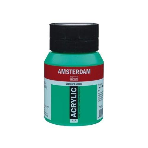 Amsterdam Amsterdam Acrylverf 500 ml Paul Veronesegroen 615