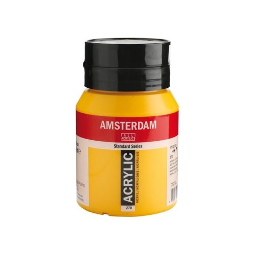 Amsterdam Amsterdam Acrylverf 500 ml Azogeel Donker 270