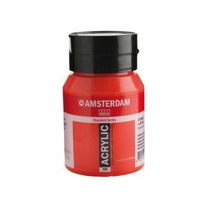 Amsterdam Amsterdam Acrylverf 500 ml Naftolrood Middel 396
