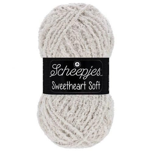 Scheepjeswol Scheepjes Sweetheart Soft 100 gram 002 Grijs