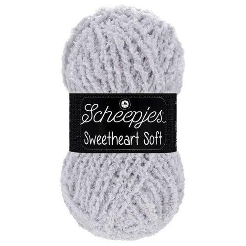 Scheepjeswol Scheepjes Sweetheart Soft 100 gram 019 Lichtgrijs