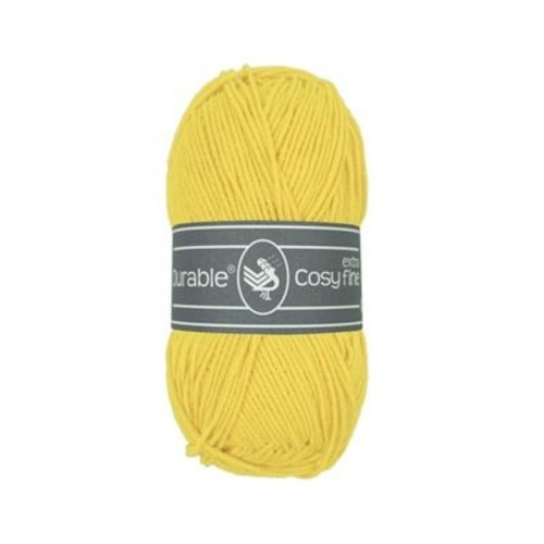 Durable Durable Cosy extra fine 50 gram Bright yellow 2180