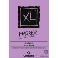 Tekenblok Canson XL Marker 70 gram 100 vel