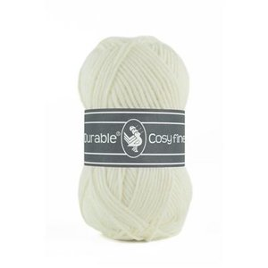 Durable Durable Cosy Fine 50 gram  Ivory 326