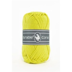 Durable Durable Coral Katoen 50 gram Light lime 351