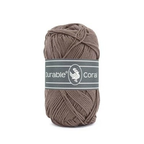 Durable Durable Coral Katoen 50 gram Warm taupe 343
