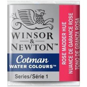 Winsor & Newton W&N Cotman Aquarelverf Half Napje Rose  Madder Hue Kopen