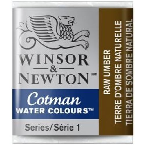 Winsor & Newton W&N Cotman Aquarelverf Half Napje Raw Umber