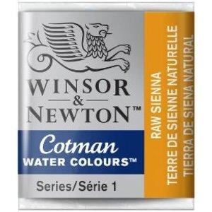 Winsor & Newton W&N Cotman Aquarelverf Half Napje  Raw Sienna
