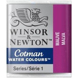 Winsor & Newton W&N Cotman Aquarelverf Half Napje Mauve