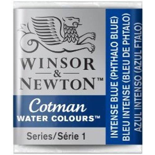 Winsor & Newton W&N Cotman Aquarelverf Half Napje Intense Blue