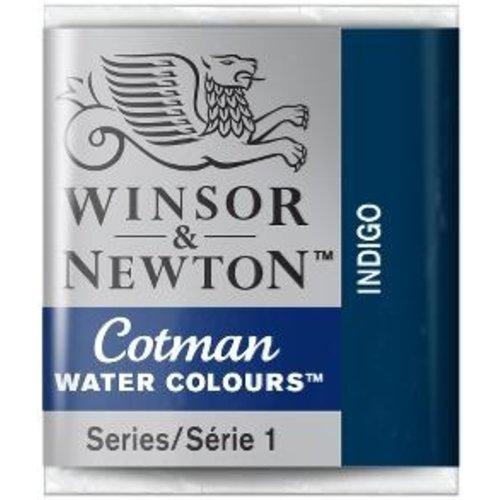 Winsor & Newton W&N Cotman Aquarelverf Half Napje Indigo