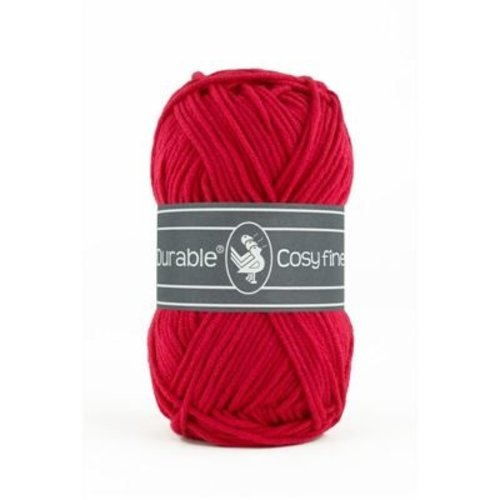 Durable Durable Cosy Fine 50 gram Deep red 317