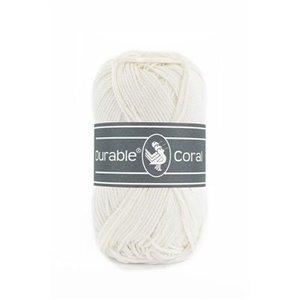 Durable Durable Coral Katoen 50 gram Ivory 326