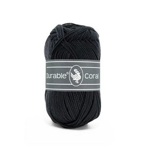 Durable Durable Coral Katoen 50 gram Graphite 324