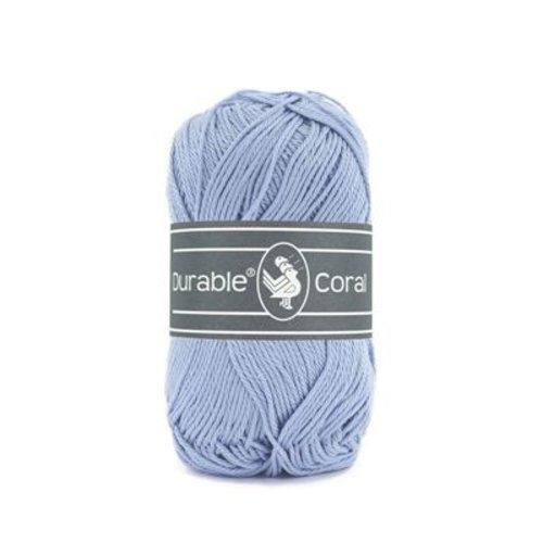 Durable Durable Coral Katoen 50 gram Blue 319
