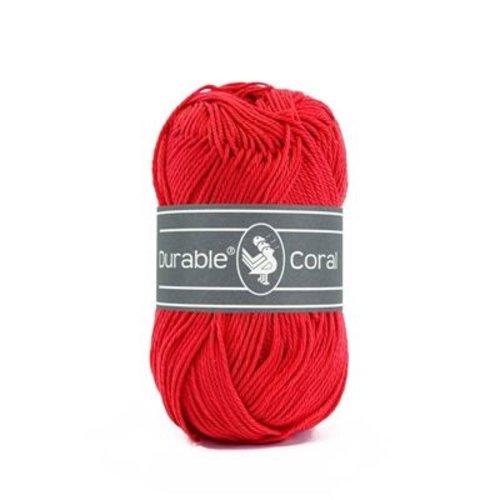 Durable Durable Coral Katoen 50 gram Tomato 318