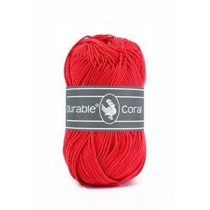 Durable Durable Coral Katoen 50 gram Red 316