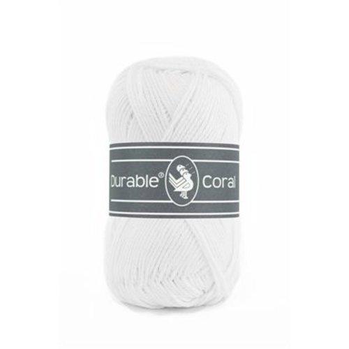 Durable Durable Coral Katoen 50 gram White 310