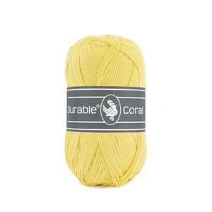 Durable Durable Coral Katoen 50 gram Light yellow 309