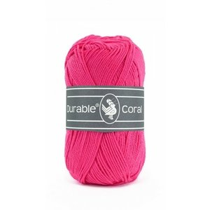 Durable Durable Coral Katoen 50 gram Fuchsia 236