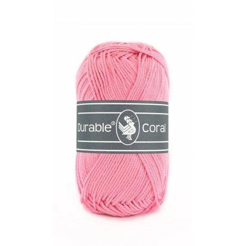 Durable Durable Coral Katoen 50 gram Pink 232