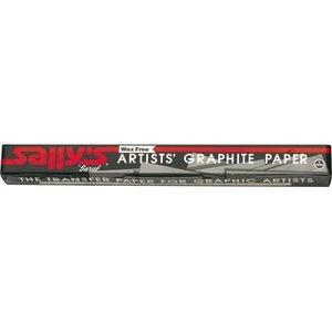 Saral Saral papier grafiet zwart 46 x 61 cm 12 vellen