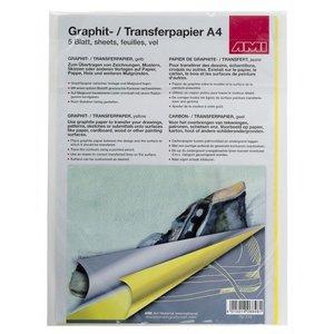 Ami Grafietpapier geel A4 5 vellen