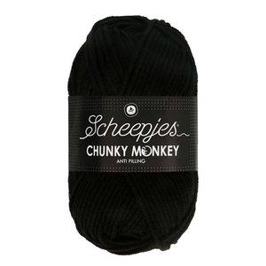 Scheepjeswol Scheepjes Chunky Monkey 100 gram 1002 Black