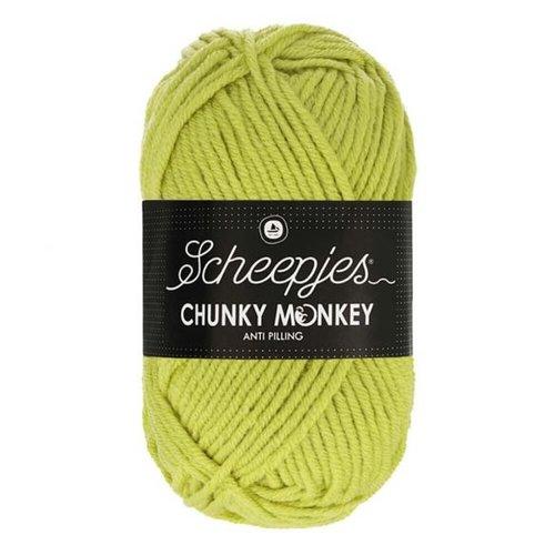Scheepjeswol Scheepjes Chunky Monkey 100 gram 1822 Chartreuse