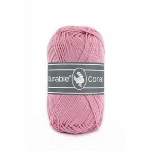 Durable Durable Coral Katoen 50 gram Old rose 224