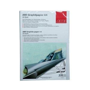 Ami Grafietpapier zwart A4 20 vel