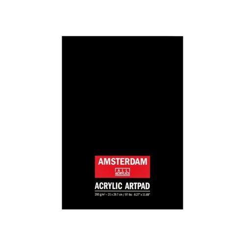 Talens  Amsterdam acryl artpad A4 10 vel 200gr