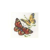 Alisa borduurpakket 2 vlinders 0-50