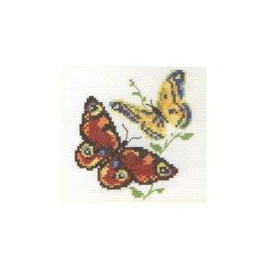 Alisa Alisa borduurpakket 2 vlinders 0-50