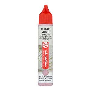 Art Creations Talens Art Creation Effect Liner 28 ml Glitter Koper 8905