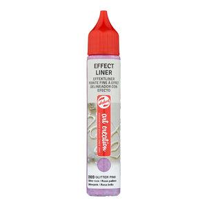 Art Creations Talens Art Creation Effect Liner 28 ml Glitter Roze 8909