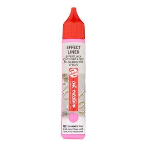 Art Creations Talens Art Creation Effect Liner 28 ml Sprankelend Roze 8951