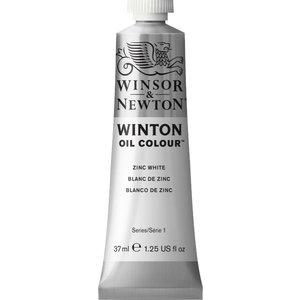 Winsor & Newton Winton olieverf 37 ml Zink Wit