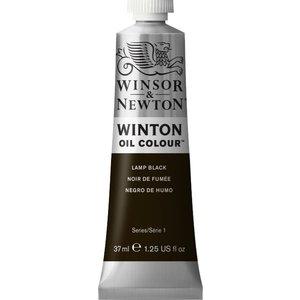Winsor & Newton Winton olieverf 37 ml Ivoor Zwart