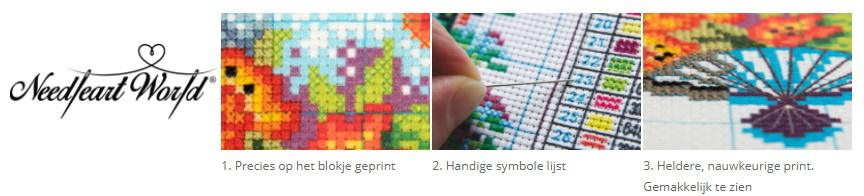 Voorbedrukte borduurpakketten zomerspeelgoed.com
