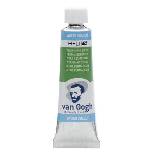 van Gogh Van Gogh Aquarelverf Tube 10 ml Permanentgroen 662