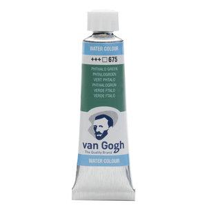 van Gogh Van Gogh Aquarelverf Tube 10 ml Phtalogroen 675