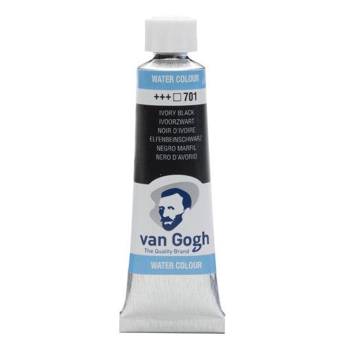van Gogh Van Gogh Aquarelverf Tube 10 ml Ivoorzwart 701